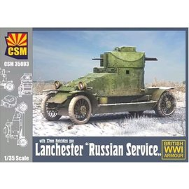 Copper State Models Copper State Models - Lanchester Armoured Car - Russian Service - 1:35