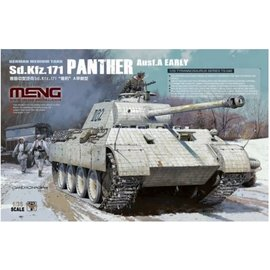 MENG MENG - dt. KPz. Sd.Kfz. 171 Panther Ausf. A Early - 1:35