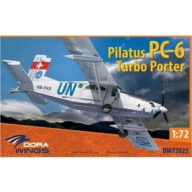 Dora Wings Dora Wings - Pilatus PC-6 Turbo Porter - 1:72