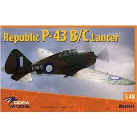 Dora Wings Dora Wings - Republic P-43 B/C Lancer - 1:48