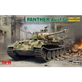 Ryefield Model RFM - Sd.Kfz. 171 Pz.Kpfw. V Panther Ausf. G early/late production - 1:35