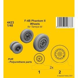 CMK CMK - Wheels for F-4B Phantom II (Tamiya-Kit) - 1:48