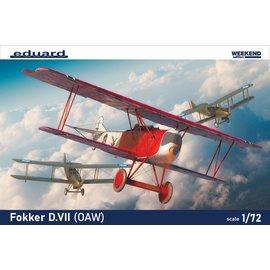 Eduard Eduard - Fokker D. VII (OAW) - Weekend Edition - 1:72