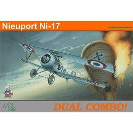 Eduard Eduard - Nieuport Ni-17 Dual Combo - Profipack - 1:72