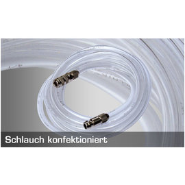 Harder & Steenbeck Harder & Steenbeck - Schlauch komplett, 2,5m (4x6mm) - Schnellkupplung NW 2,7mm - G 1/8'' IG