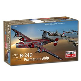 """Minicraft Minicraft - Consolidated B-24D Liberator """"Formation Ship"""" - 1:72"""