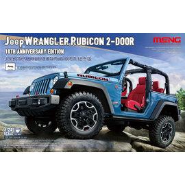 "MENG MENG - Jeep Wrangler ""Rubicon"" 2-Door - 10th Anniversary Edition - 1:24"