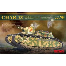 MENG MENG - Char 2C French Super Heavy Tank - 1:35