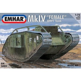 "Emhar Emhar - brit. Mk. IV ""Female"" WWI Tank - 1:72"
