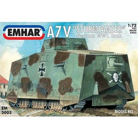 "Emhar Emhar - dt. A7V ""Sturmpanzer"" WWI Tank - 1:72"