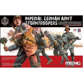 MENG MENG - WWI Imperial German Army Stormtroopers - 1:35