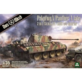 """Das Werk Das Werk - Sd.Kfz. 171 PzKpfw. V """"Panther"""" Ausf. A late - 1:35"""