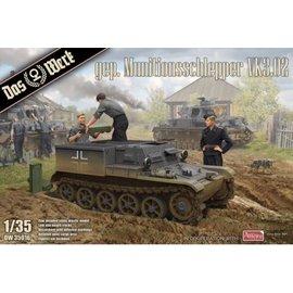 Das Werk Das Werk - Borgward VK3.02 - gepanzerter Munitionsschlepper - 1:35
