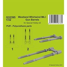 CMK CMK - Resin Gun Barrels for Westland Whirlwind Mk.I (Special Hobby) - 1:32