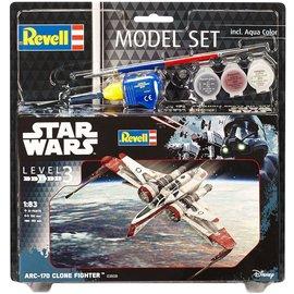 Revell Revell - Star Wars ARC-170 Fighter Model Set - 1:83
