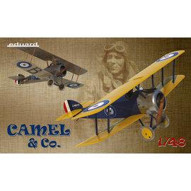 Eduard Eduard - Camel & Co. - Sopwith F.1 Camel - Limited Edition - 1:48