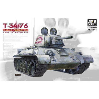AFV-Club sowj. KPz. T34/76 Model 1942/43 w/full interior - 1:35