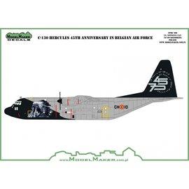 Modelmaker Decals ModelMaker - C-130 Hercules 45th Anniversary in Belgian Air Force - 1:72