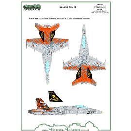 Modelmaker Decals ModelMaker - Spanish F/A-18A - 25 years of ALA 15 - 1:48