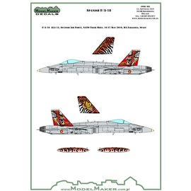 Modelmaker Decals ModelMaker - Spanish F/A-18A - 30 years of ALA 15 - 1:48