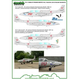 Modelmaker Decals ModelMaker - TS-11 Iskra in Polish service Vol.2 Training and auxiliary regiments - 1:72