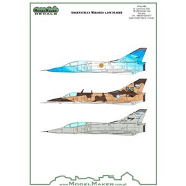 Modelmaker Decals ModelMaker - Argentine Mirage Farewell - 1:72