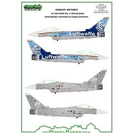 Modelmaker Decals ModelMaker - Eurofighter Typhoon 60 Years Luftwaffe TLG 74 - 1:74