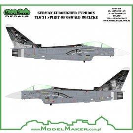"Modelmaker Decals ModelMaker - German Eurofigher Typhoon TLG 31 ""Spirit of Oswald Boelcke"" - 1:72"