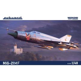 Eduard Eduard - Mikojan-Gurewitsch MiG-21MF - Weekend Edition - 1:48