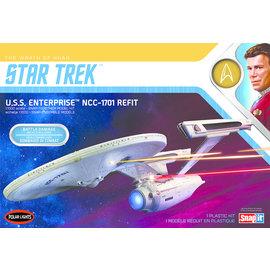 Polar Lights Polar Lights - Star Trek The Wrath of Khan - USS Enterprise NCC-1701 Refit - 1:1000