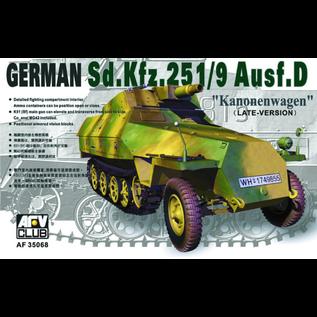 "AFV-Club Sd.Kfz.251/9 Ausf.D late ""Kanonenwagen"" - 1:35"