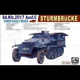 "AFV-Club AFV-Club - Sd.Kfz.251/79 Ausf. C ""Sturmbrücke - 1:35"