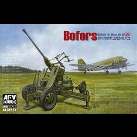 AFV-Club AFV-Club - British Bofors 40mm Mk. III AA Gun - 1:35