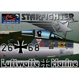 Astra Decals Astra Decal - (T)F-104G Starfighter German Air Force - 1:72