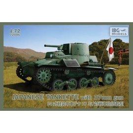 IBG Models IBG - Type 94 Japanese Tankette with 37mm gun - 1:72