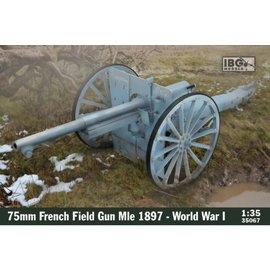 IBG Models IBG - 75mm French Field Gun Mle 1897 World War I - 1:35