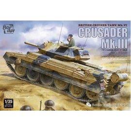Border Model Border Model - Crusader Mk.III British Cruiser Tank Mk. VI - 1:35