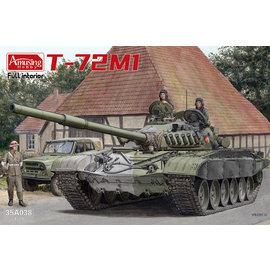 """Amusing Hobby Amusing Hobby - sowj. KPz. T-72M1 """"NVA"""" w/full interior - 1:35"""