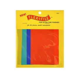 Flexifile Flexifile - Schleifleinen Polier-Set 100x75 mm