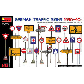 MiniArt MiniArt - German Traffic Sings 1930-40s - 1:35