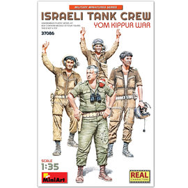 MiniArt MiniArt - Israeli Tank Crew Yom Kippur War - 1:35