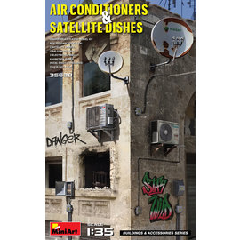 MiniArt MiniArt - Air Conditioners & Satellite Dishes - 1:35