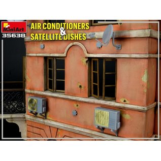 MiniArt Air Conditioners & Satellite Dishes - 1:35