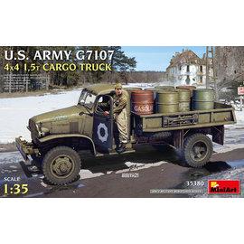 MiniArt MiniArt - U.S. Army G7107 4x4 1,5t Cargo Truck - 1:35
