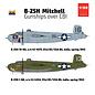 "Hong Kong Models North American Aviation B-25H Mitchell ""Gunships"" over CBI - 1:32"