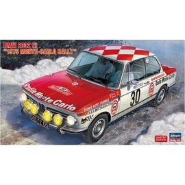 Hasegawa Hasegawa - BMW 2002 tii, 1975 Monte Carlo Rally - 1:24