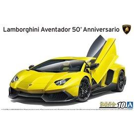 Aoshima Aoshima - Lamborghini Aventador 50° Anniversario - 1:24