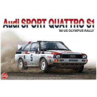 NuNu Model Kit Audi Quattro Sport S1 - '86 US Olympus Rally - 1:24