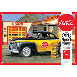 """AMT AMT - '41 Plymouth Coupe """"Coca-Cola"""" - 1:25"""