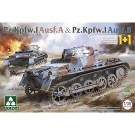 TAKOM TAKOM - Pz.Kpfw.I Ausf.A & Pz.Kpfw.I Ausf.B - 1:35